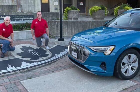 Vancouver Driver Sets New Coast to Coast EV Record