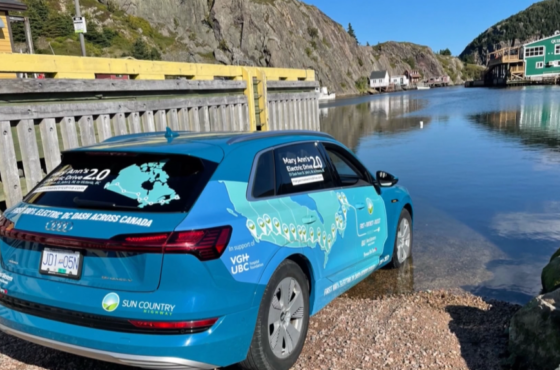 Electrifying journey: B.C. man completes EV cross-country drive in less than 5 days Volume 90%